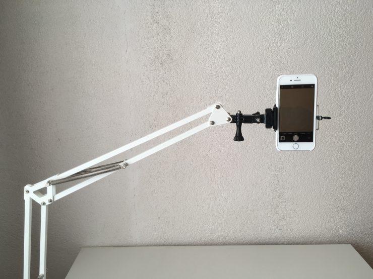 Výroba stativu z Ikea lampy