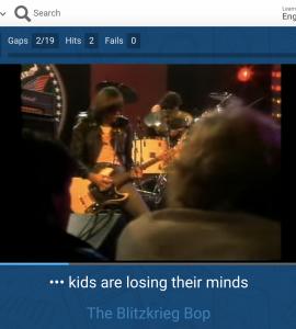 Výuka jazyků pomocí hudebních klipů