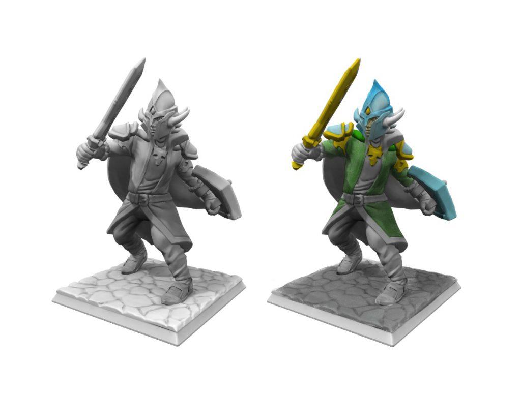 3D herní postavy