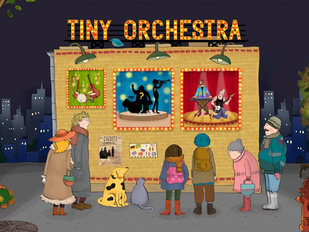 Hudební výchova na iPadu - Tiny Orchestra