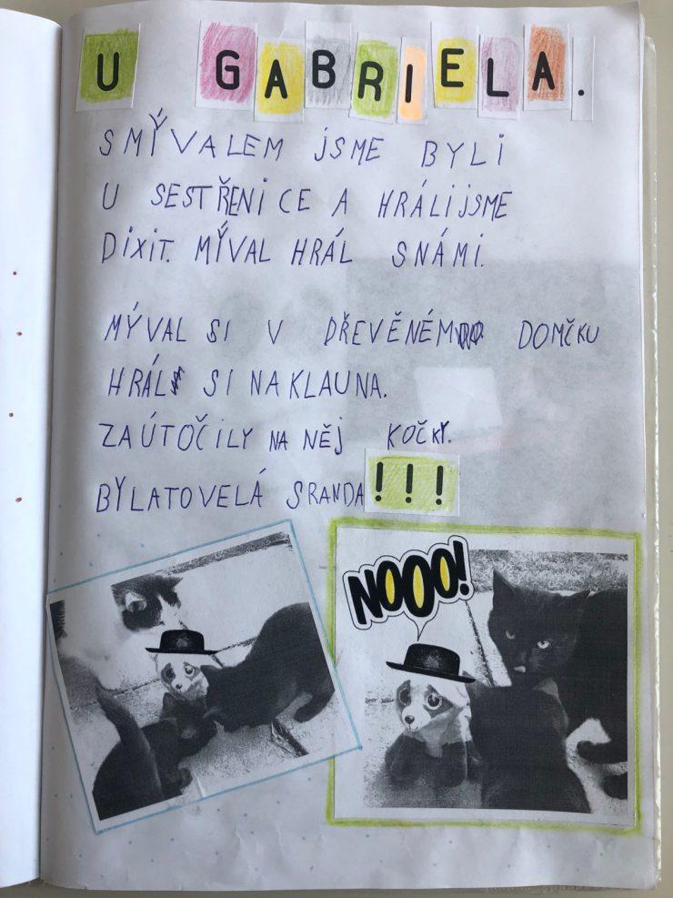 Deník maskota