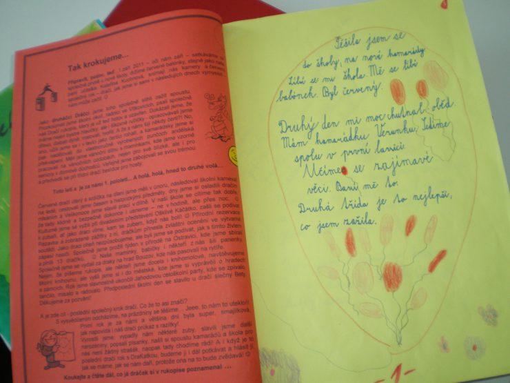 Třídní rukopisy - měsíčníky