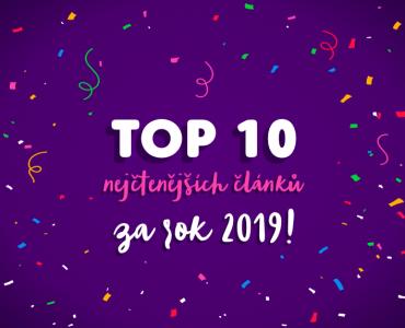 10 nejčtěnějších článků za rok 2019