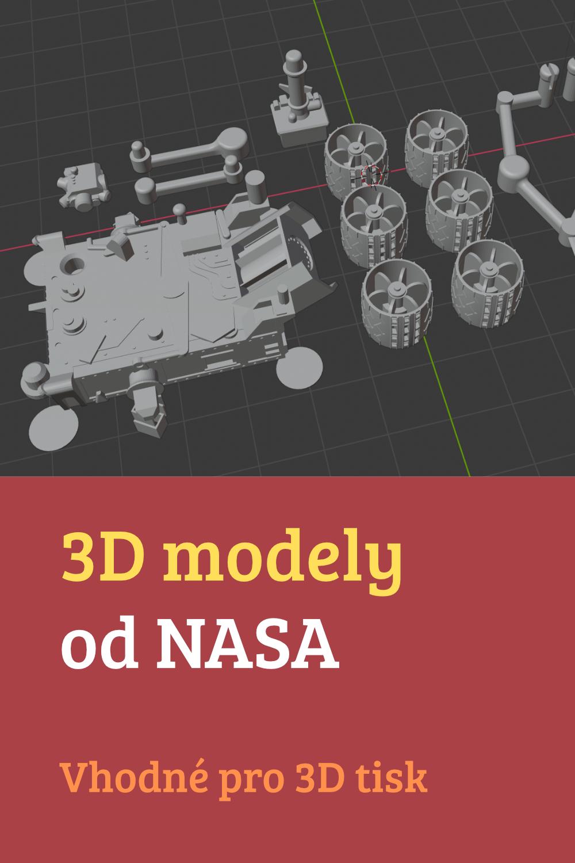 3D modely od NASA