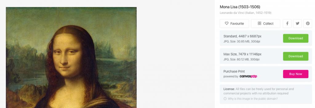 Zdarma dostupná umělecká díla ve vysokém rozlišení