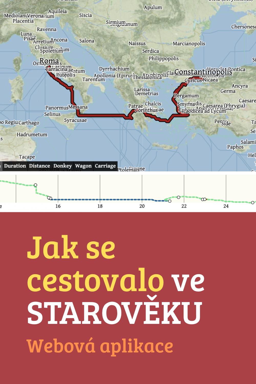 Jak se cestovalo ve starověku