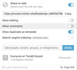 Notion - aplikace na poznámky a osobní wiki